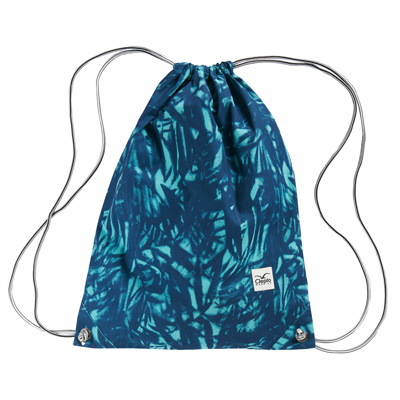 CLEPTOMANICX Gymbag GYM PATTERN dusty turquoise