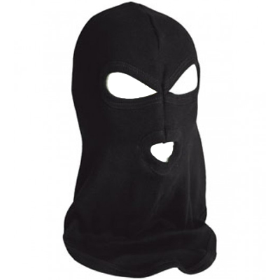BALACLAVA Cotton Skimask black