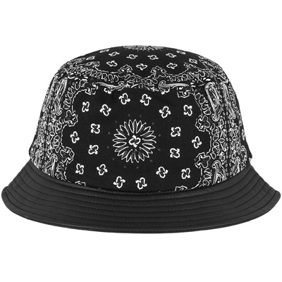 YUPOONG Bucket Hat BANDANA black