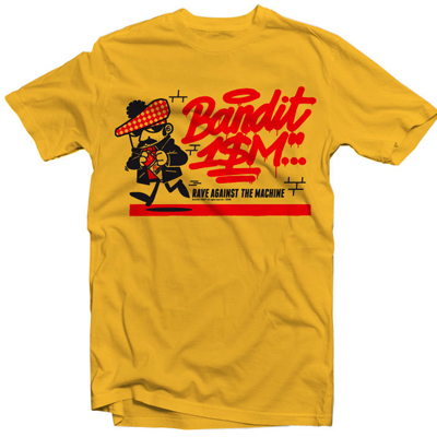 BANDITISM T-Shirt TAGGER yellow