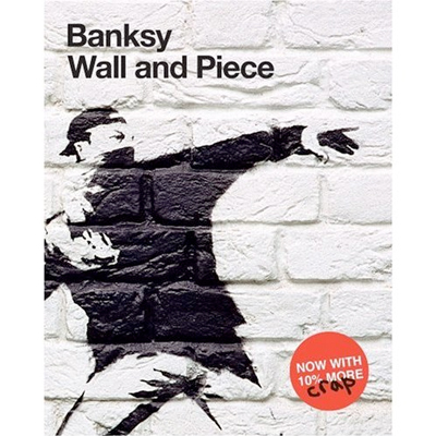 BANKSY Book WALL AND PIECE softcover