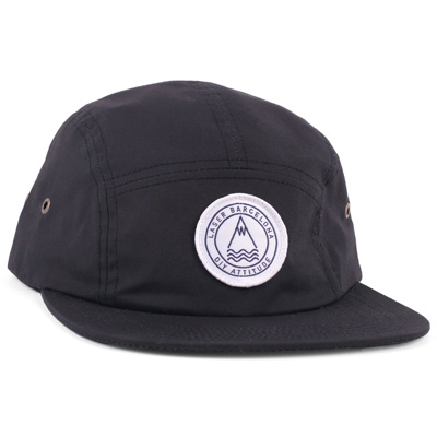 LASER 5Panel Cap BARCELONETA black