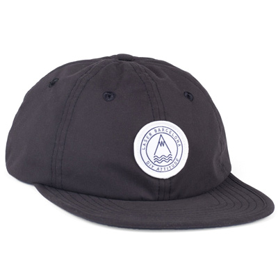 LASER 6Panel Cap BARCELONETA black