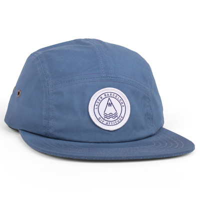 LASER 5Panel Cap BARCELONETA steel blue