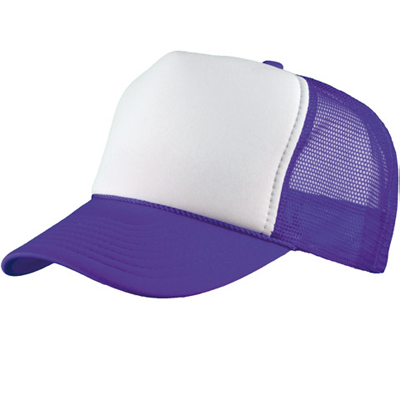 Baseball Trucker Cap purple/white