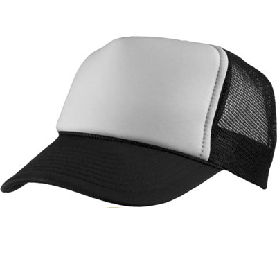 Baseball Trucker Cap black/white