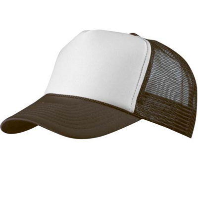 Baseball Trucker Cap brown/white
