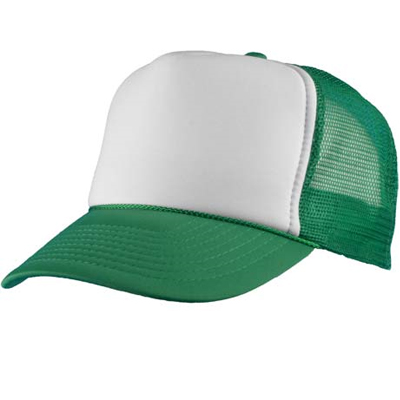 Baseball Trucker Cap green/white