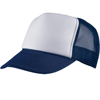 Baseball Trucker Cap navy/white