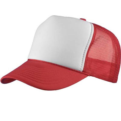 Baseball Trucker Cap red/white