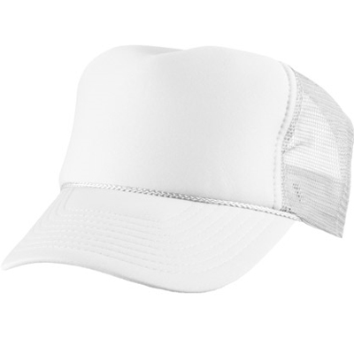 Baseball Trucker Cap uni white