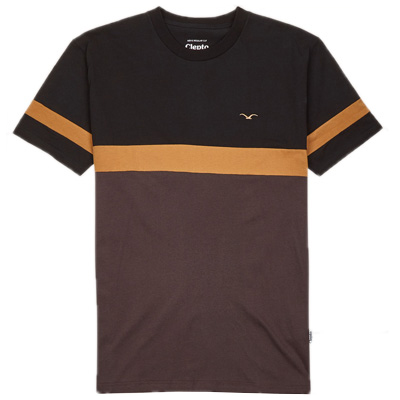 CLEPTOMANICX T-Shirt DEKKER black/beige/brown
