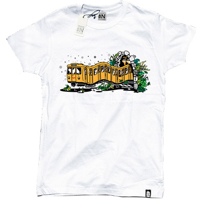 VANDALS ON HOLIDAYS T-Shirt BERLIN white