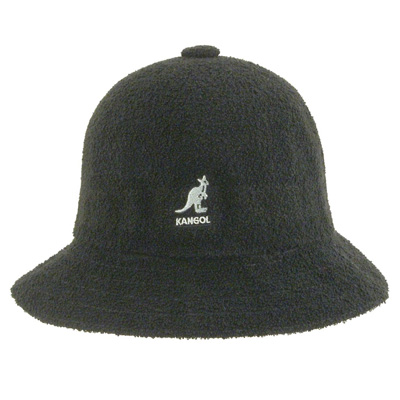 KANGOL Bucket Hat BERMUDA CASUAL black