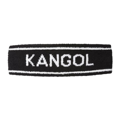 KANGOL Headband BERMUDA STRIPE black