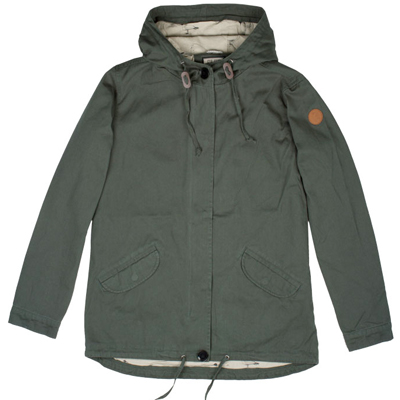 CLEPTOMANICX Girl Jacket BINGO olive green