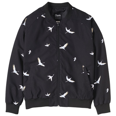 CLEPTOMANICX Girl Jacke BIRD BOMBER black