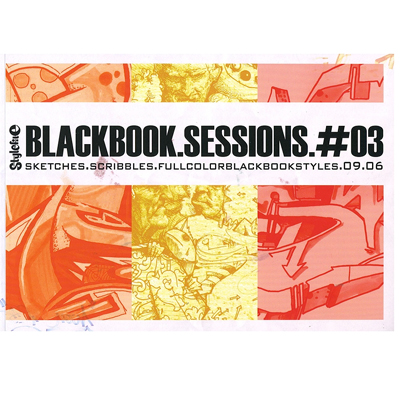 STYLEFILE BLACK BOOK SESSIONS #3 Book