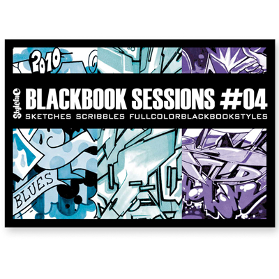STYLEFILE BLACK BOOK SESSIONS #4 Book