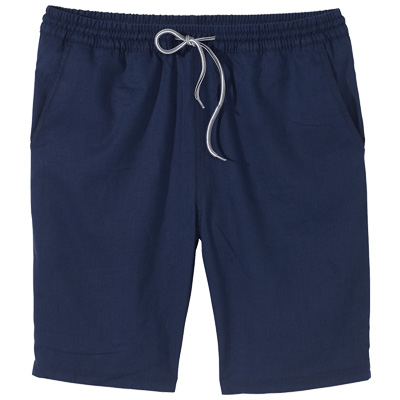 CLEPTOMANICX Board Shorts HEMP JAM dark navy