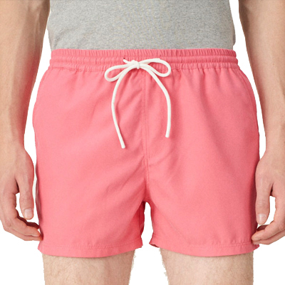 CLEPTOMANICX Swim Shorts MAGIC SHORTS calypso coral