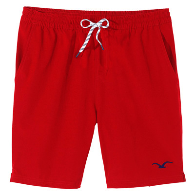CLEPTOMANICX Board Shorts TRACK SHORTS fiery red