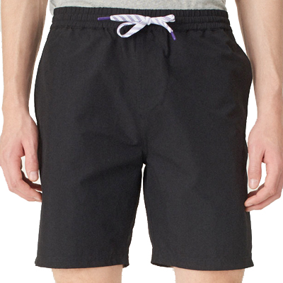 CLEPTOMANICX Board Shorts TRACK TWO black