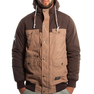 WRUNG Jacke BOMBSTER brown