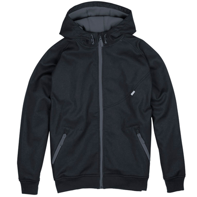 CLEPTOMANICX Jacke BURNER BONDED black