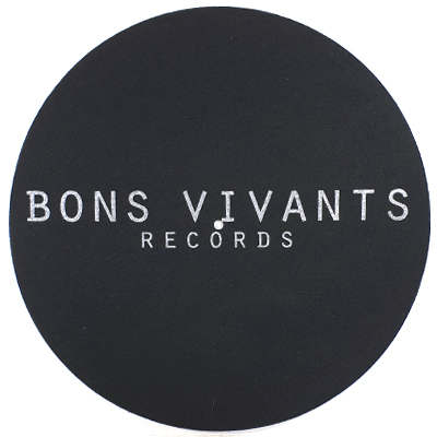 BONS VIVANTS RECORDS Slipmat
