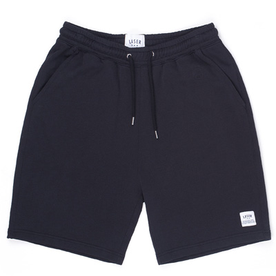 LASER Sweat Shorts BORNE black