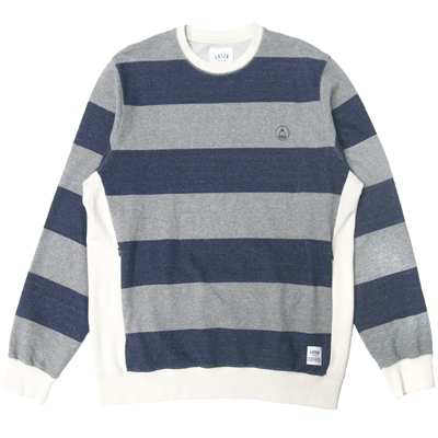 LASER Sweater BORNE navy/grey