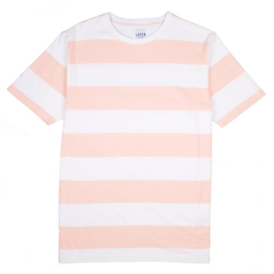 LASER T-Shirt BORNE natural/salmon