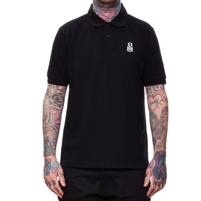 REBEL8 Polo Shirt BOVVER black