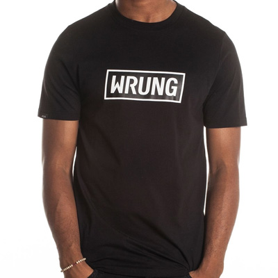 WRUNG T-Shirt BOX LOGO black