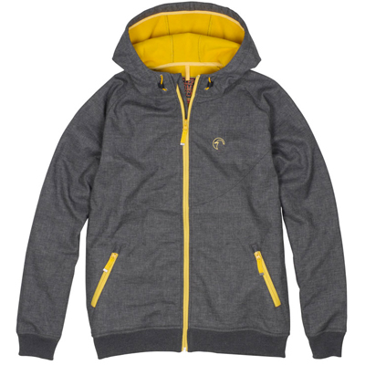 CLEPTOMANICX Jacke BURNER BONDED heather dark grey