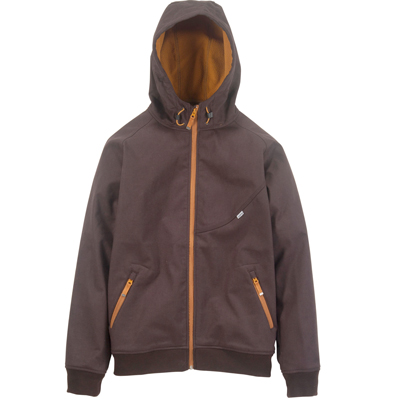CLEPTOMANICX Jacket BURNER BONDED dark brown