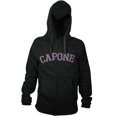 CAPONE Hooded Zipper MAGNIFICENT dark grey