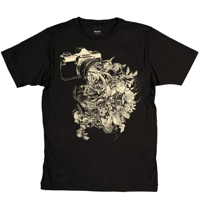 DEPHECT T-Shirt CAPTURE black