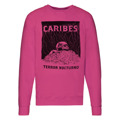 CARIBES Sweater TERROR NOCTURNO pink