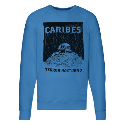 CARIBES Sweater TERROR NOCTURNO turquoise