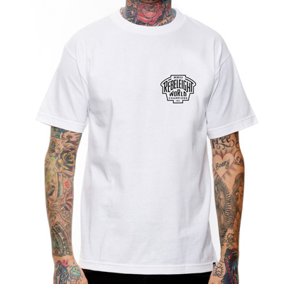 REBEL8 T-Shirt CHAMPIONS white