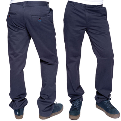 CLEPTOMANICX Chino Pants PORT CLASSIC navy