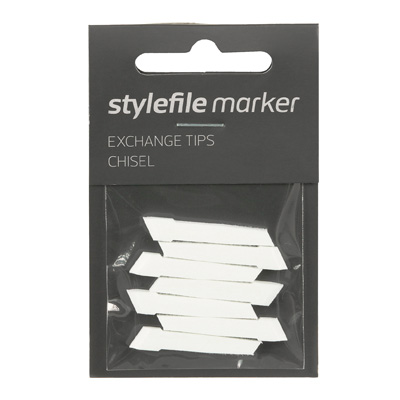 STYLEFILE Marker CHISEL Ersatz Tips (7pcs)