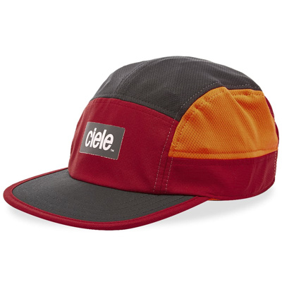 CIELE 5Panel Cap GOCAP STANDARD RED ROCKS red/black