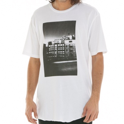 OBEY T-Shirt CITY ICON  PHOTO white