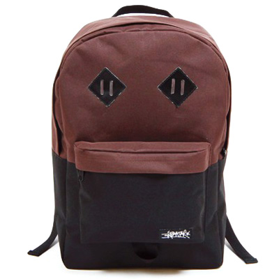 ANTEATER Rucksack CITY BAG brown/black