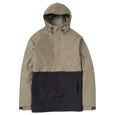 CLEPTOMANICX Jacket CITY HHOODED dusty olive/black