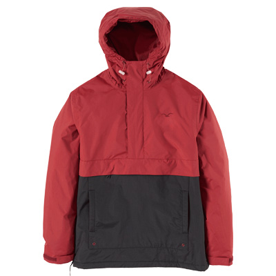 CLEPTOMANICX Winter Jacke CITYHHHOODED merlot red/black