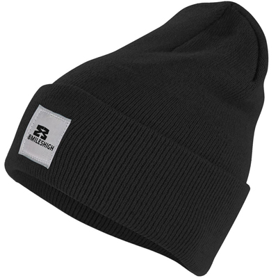 EIGHT MILES HIGH Beanie CLASSIC black